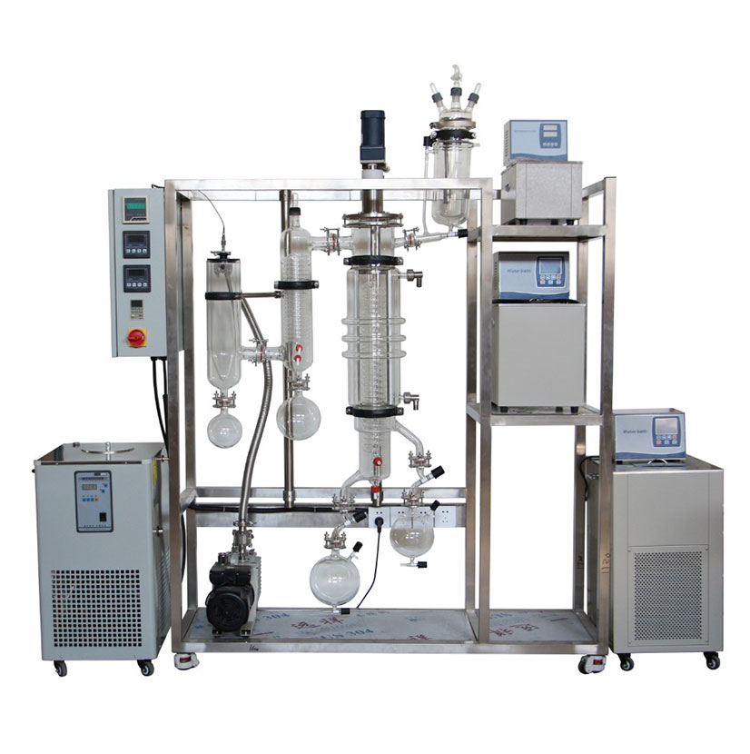 Turnkey Essential Oil Extraction Short Path Molecular Distillation Equipment System