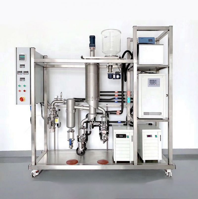 Laboratory-Molecular-Distiller-Essential-Oil-Distillation-Equipment