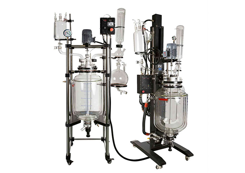 The Features of Glass Reactor